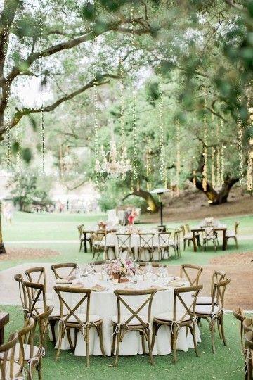 decoracion de bodas en jardin sencilla #decoraciondeboda   dreams <3