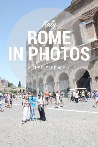 Italy in Photos: Rome with Trafalgar Tours at the tourist attraction, the Colosseum