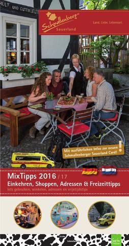Mix Tipps - Schmallenberg & Eslohe  Informationen rund um das Schmallenberger Sauerland und die Ferienregion Eslohe. Öfnnungszeiten, Sehenswürdigkeiten, Gastronomieführer und vieles mehr!