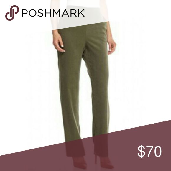"""Coming Soon Inc Ponte Bootcut Trousers These will be in color fern green Inc's ponte pants boast a curvy fit that hugs your hips before flaring out into a chic bootcut silhouette.   Approx measurements Waist 21""""  Inseam 28.5"""" Rise 10.5""""  Hips 24""""  60% rayon, 35% nylon, 5% spandex INC International Concepts Pants Boot Cut & Flare"""