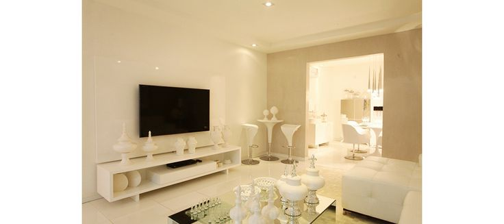 White living rooms and Living rooms on Pinterest