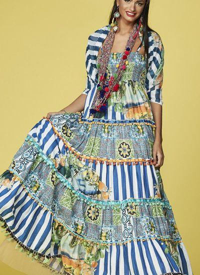 348442b7f2d Antica Sartoria Positano Fashion Dress Hippie Chic   My Summer ...