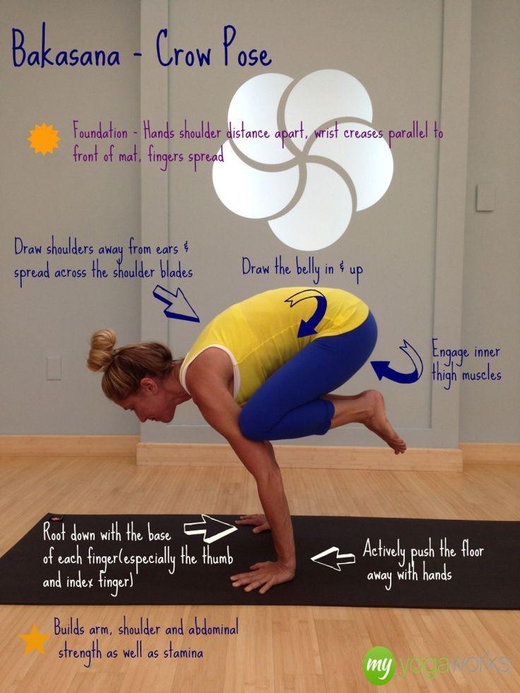 bakasana crow pose tips yogibe