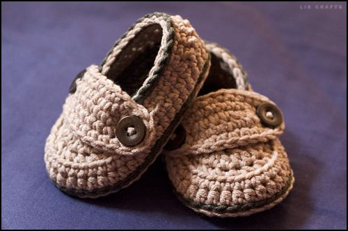 Baby Button Loafers. so cute!!!!