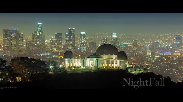 """Nightfall"" - Stunning new LA time lapse from artist Colin Rich"