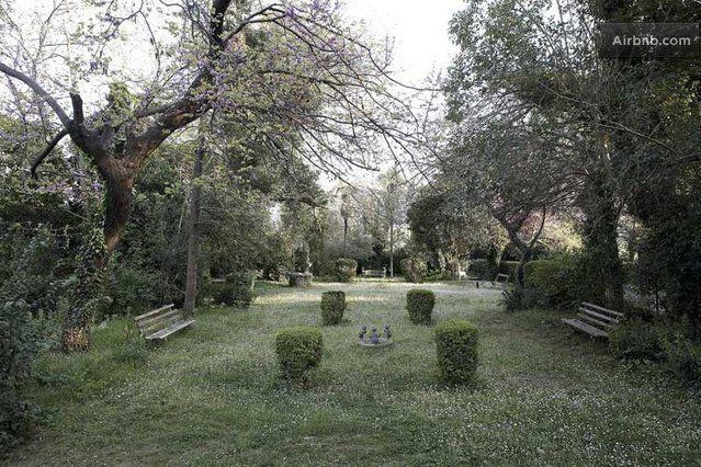 The Villa Averoff Red House garden