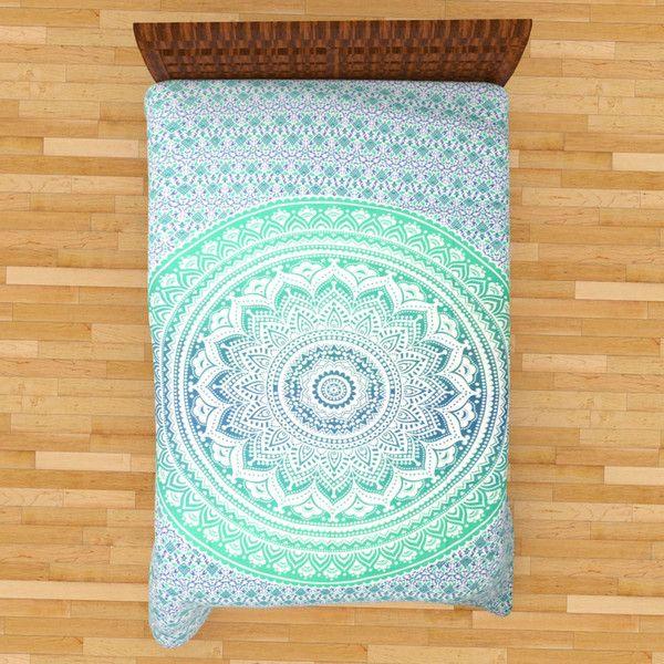 Wanddeko - Indische Mandala Wandbehang Tapisserie Strandtuch - ein Designerstück von LindasJewelryStuff bei DaWanda