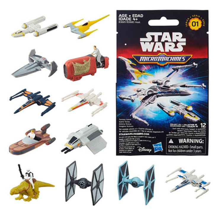 Star Wars Micro Machines Blind Bag Vehicles Series 1 Figure