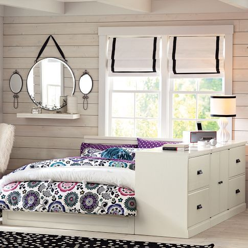 Paramount Bed + Dresser Set Pinterest Dresser sets, PB Teen and