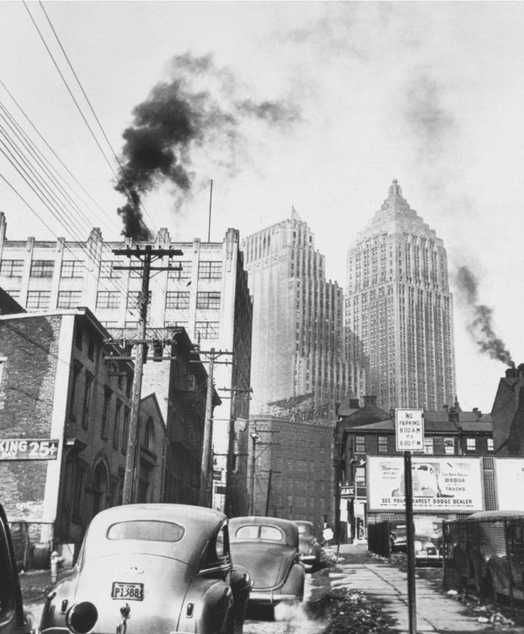 1945 Air Pollution in Pittsburgh, Pennsylvania in 2020