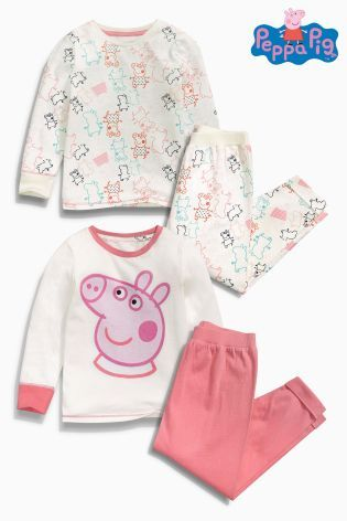 Buy Two Pack Peppa Pig™ Pyjamas (12mths-6yrs) online today at Next: Australia