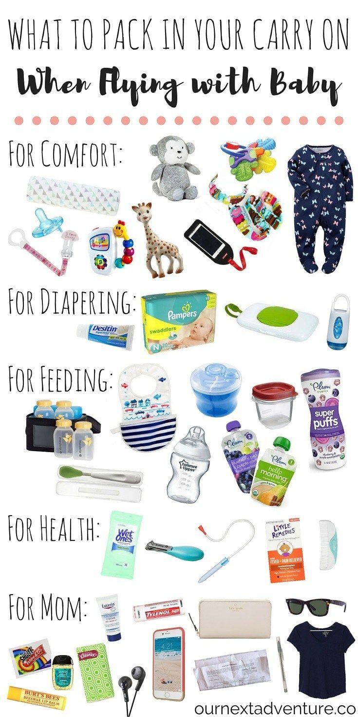 baby travel checklist