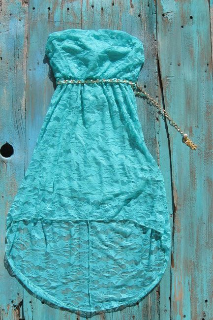 High Low Cowgirl Dress $35.00 perfect western lace dress to wear with your cowboy boots can be purchased at www.elusivecowgirl.com
