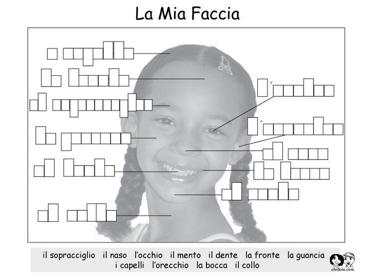 Italian Printout - My Face