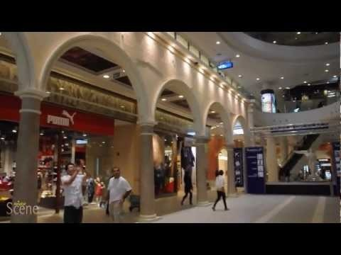 Terminal 21 Shopping Mall Opens in Bangkok. Movie by Paul Hutton, Bangkok Scene.
