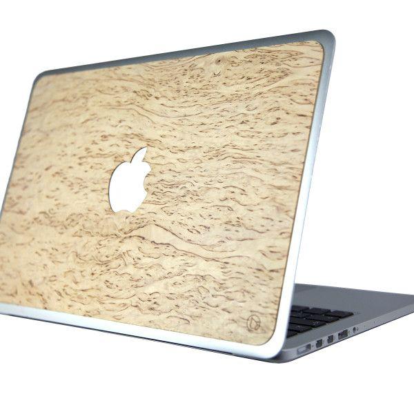 MacBook Lastu Curly Birch