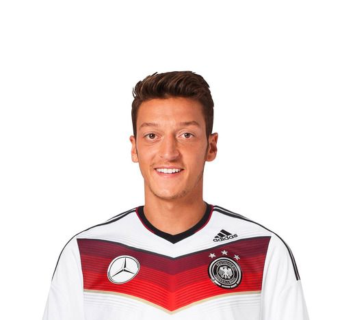 Mesut Ozil love you