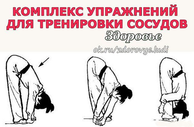 гимнастика для сосудов в картинках гинзбург писал