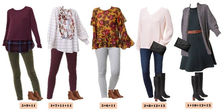 Check out this mini loft winter capsule wardrobe with both casual and a bit more dressy mix & match outfits. This makes looking great easy and affordable.