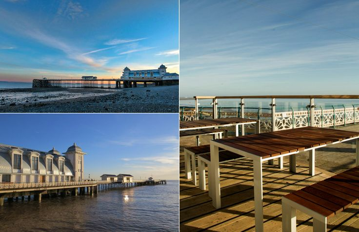 Penarth Pier in Wales has been refurbished with STUA Deneb tables & benches.