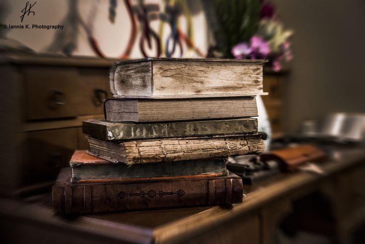 Books corner by Iannis Koukoras on 500px