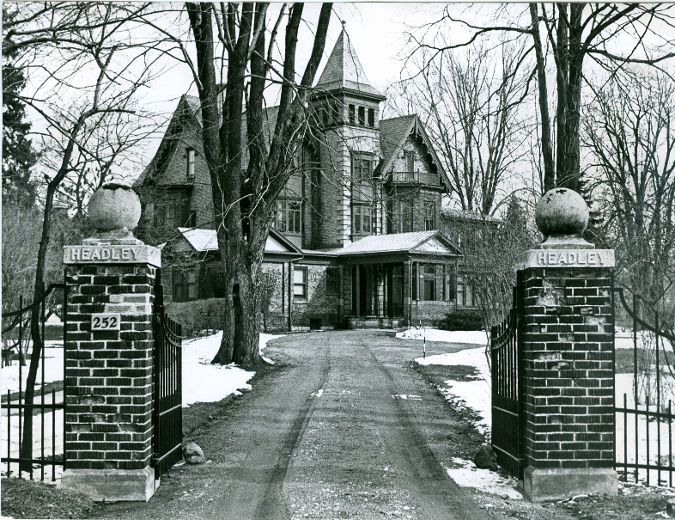 Sir Adam Beck's home on Richmond St, London, Ontario, was built in 1862. (London Free Press files)