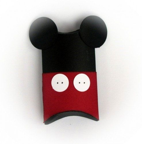 Mickey Mouse Pillow Treat Boxes