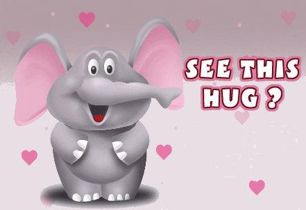 see this hug its for you gif