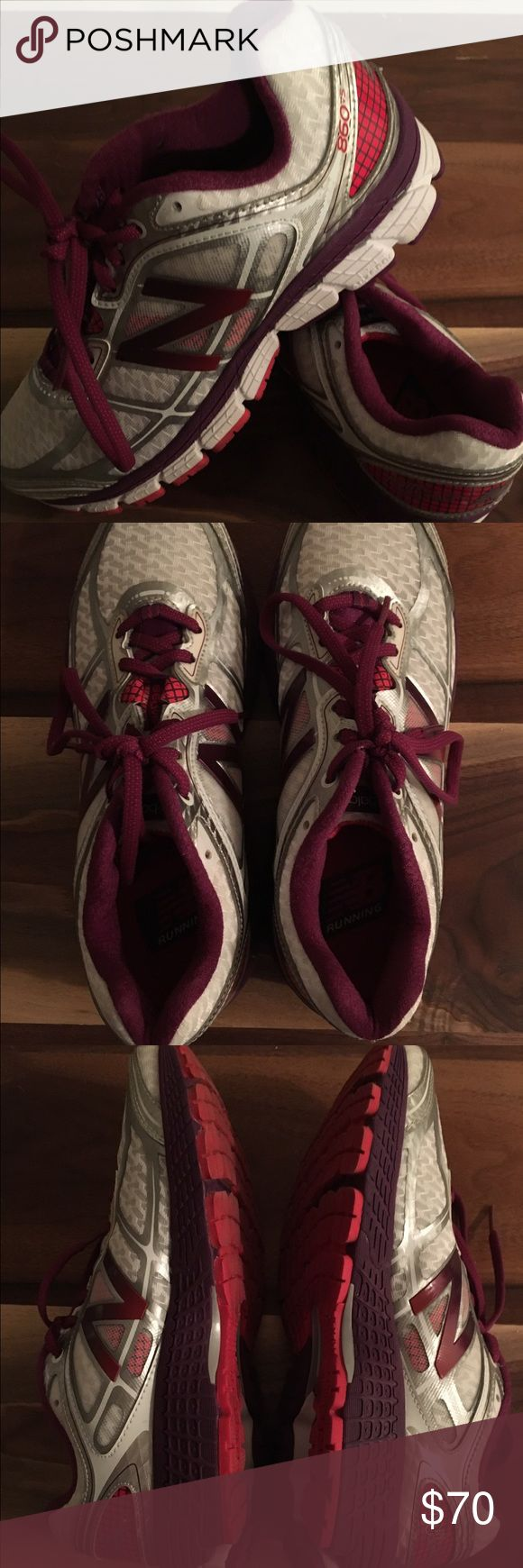 New Balance 860v5 New Balance women's 860v5. Only worn once. Really great for long distance running! New Balance Shoes Athletic Shoes