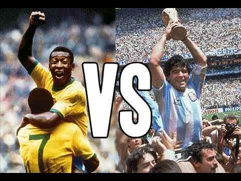 """كل محبى لعبة كرة القدم يعشقون اللاعبين الأفذاذ مثل بيليه، بكنباور، كرويف، زيدان، مارادونا و ميسي و غيرهم. غير أنه و بدون شك، فإن الأفضل على الإطلاق هما البرازيلى بيليه و الأرجنتينى مارادونا. و سنحاول فى هذا المقال أن نقارن بين الإثنين بموضوعية لنحسم الجدل الدائر منذ عقود عن من منهما يستحق لقب """"ملك الكرة""""، …"""