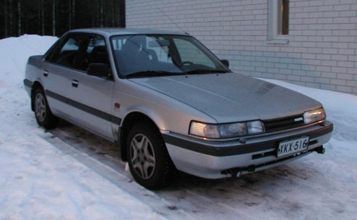 Nissan primera mazda 626