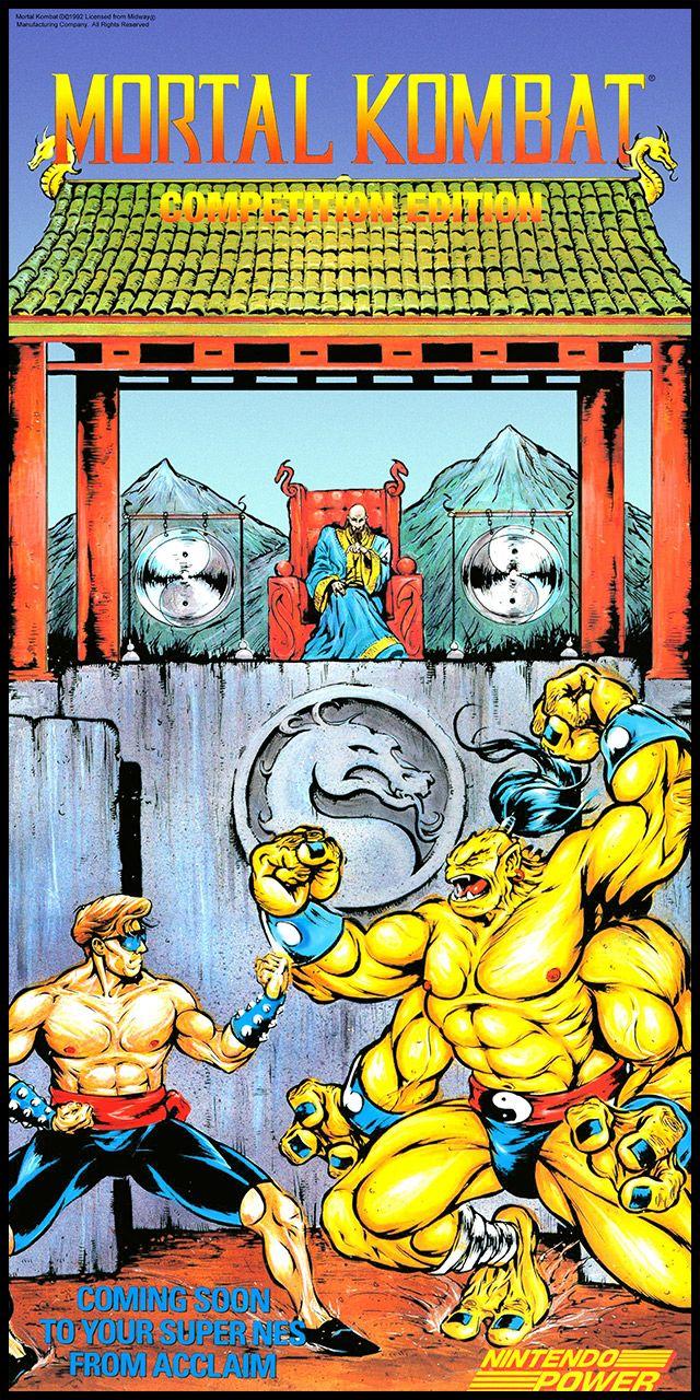 Original Mortal Kombat Poster