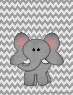 Nursery Art with Grey Chevron Background- FREE PRINTABLES!!!