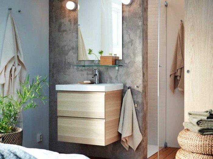 idees deco salle de bain zen meubles salle de bain bambou pas cher