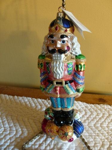Christopher Radko RARE NUMBERED 4871 OF 10,000 NUT CRACKER KING NUTCRACKER | eBay