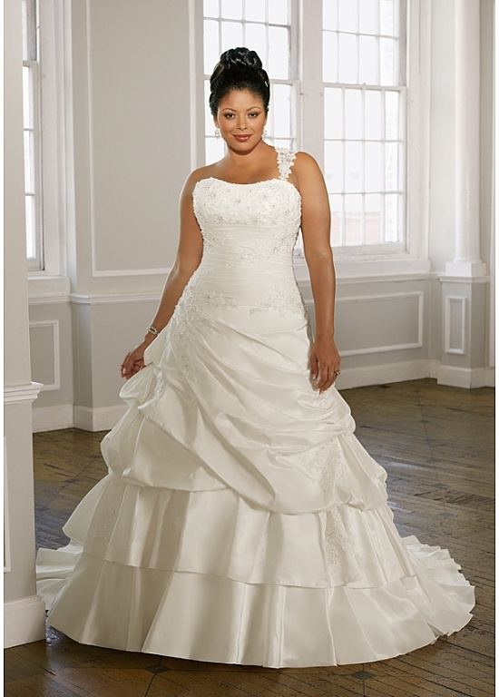 Nice Mori Lee Julietta Ivory size In Stock Plus Size Wedding Dress Bridal Gown