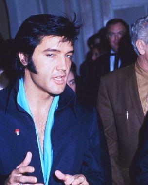 Elvis Las Vegas International Hotel circa 1969.