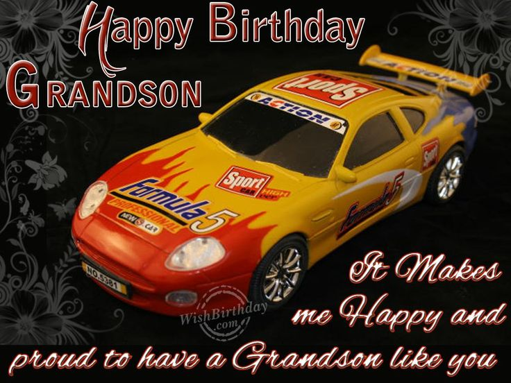 birthday for grandson   Birthday Wishes for Grandson - Birthday Cards, Greetings