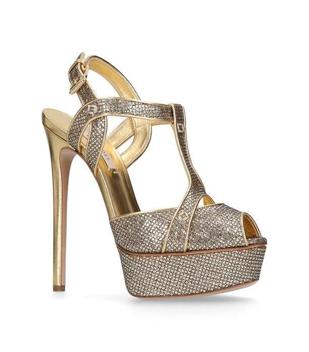 Shoes: Heels Casadei Isabella Platform Sandals 150