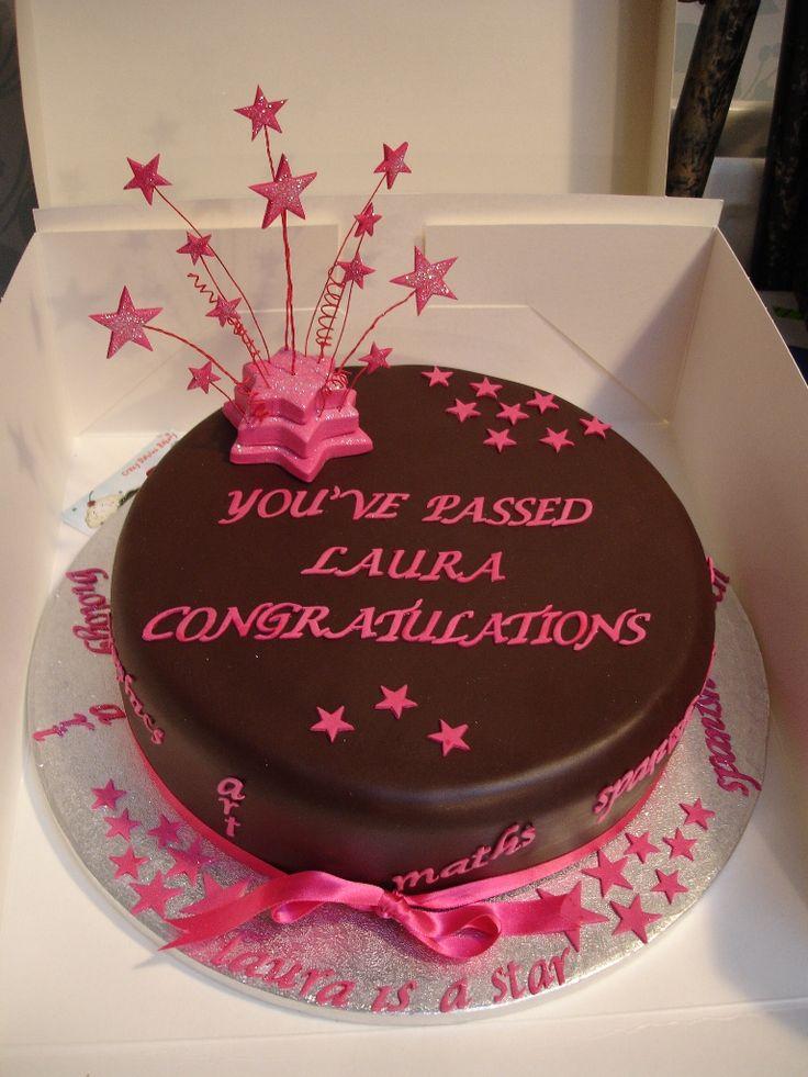 congratulations-exams-chocoholics-brown-hot-pink-celebration-cake.jpg (768×1024)