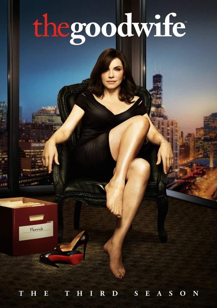 The good wife saison 3 en dvd