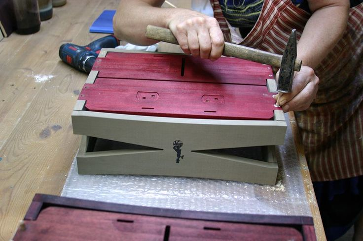 Making of Autumn crate! Order yours on gothamcargo.com