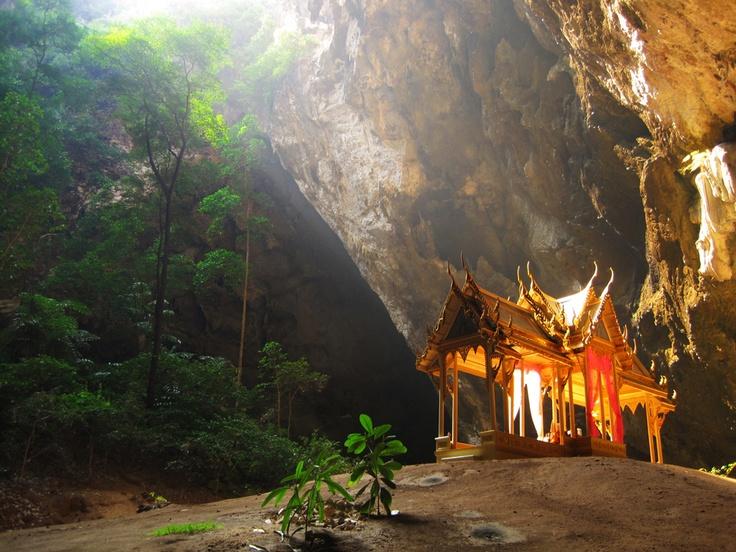 Kuha Karuhas Pavilion in the Khao Sam Roi Yot National Park, Thailand.