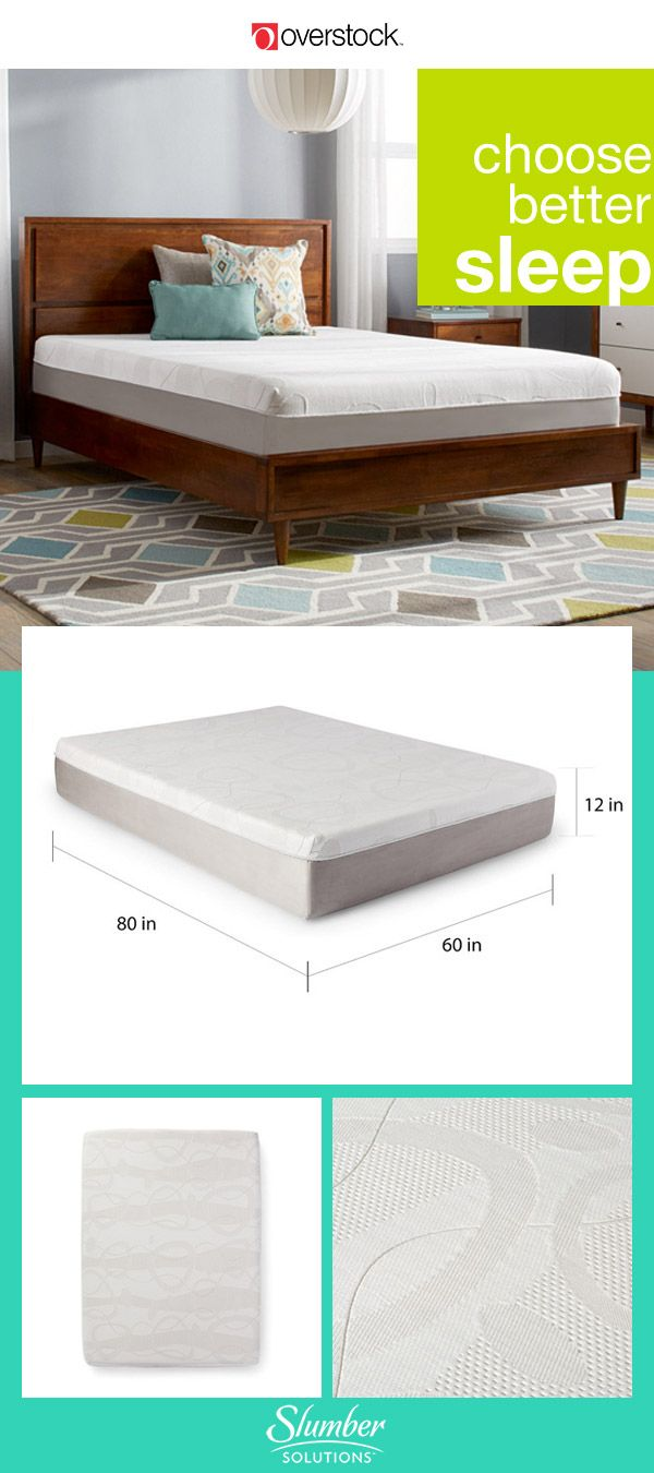 Toss that old mattress that keeps you tossing and turning all night and try the solution from Slumber Solutions. With a gel memory foam mattress or even a mattress topper, healthier sleep is in your future.