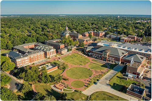 Winthrop University in Rock Hill, SC... love it!