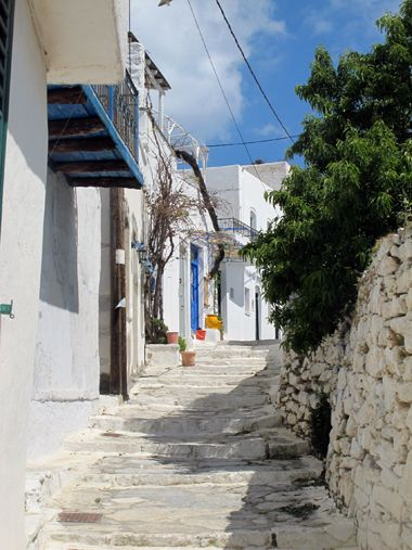 Picturesque alleys, Chora, Amorgos
