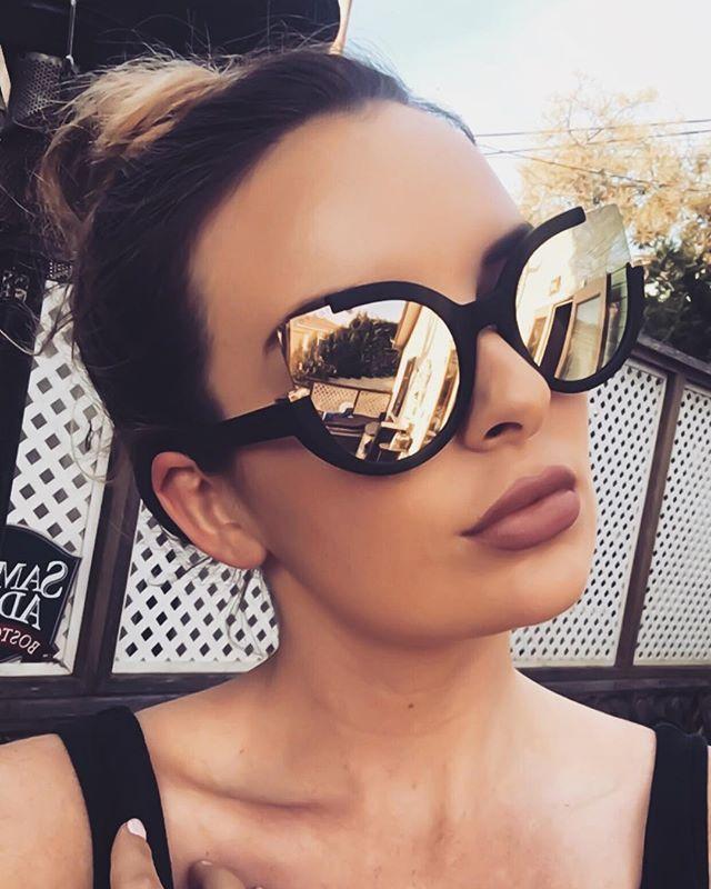 6b20d30ee Chloe Sunnies - Black/ Rosegold in 2019 | Customers Slayin' in ...