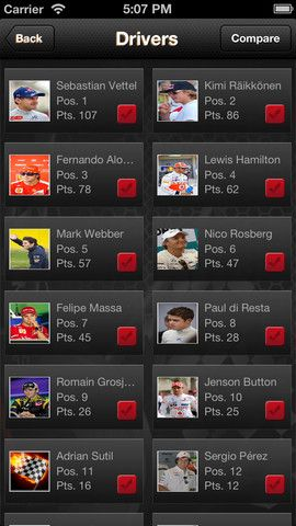 Raceopedia - I find this mobile application last week from #itunestore. Here we get easily all F1 updates like - Latest F1 News, Race Schedules, Constructor's Championship,Players Championship tables,Compare players Performances. Downloaded this formula1 related #iPhoneapplication on your iPhone and iPads from itune store.