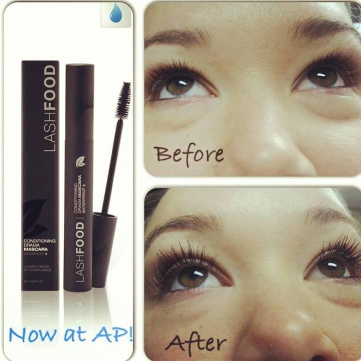 Want dramatic lashes that grown stronger and longer. Try Lash Food with nano-peptide technology. Available at AP!