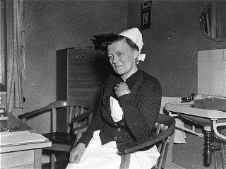 Irmgard Huber (1901 – 1983) was the head nurse of Germany's Hadamar Clinic, a major center of the Action T4 euthanasia program in Nazi Germany. She was convicted of war crimes in 1947.
